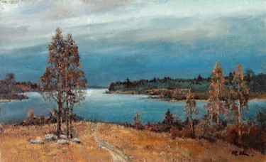 """Painting titled """"After the rain on t…"""" by Mark Kremer, Original Art, Oil"""