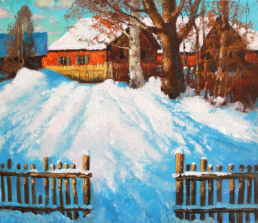 """Painting titled """"March"""" by Mark Kremer, Original Art, Oil"""