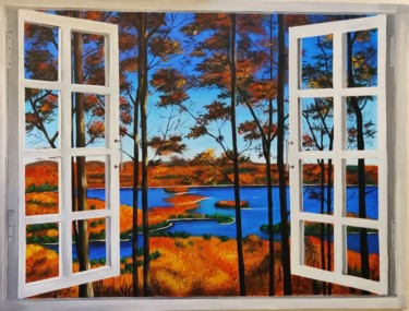 """Painting titled """"Delicious Autumn"""" by Geetu Thakur, Original Art, Acrylic"""