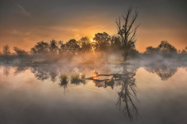 """Photography titled """"Autumn morning in l…"""" by Martin Kucera, Original Art, Analog photography"""
