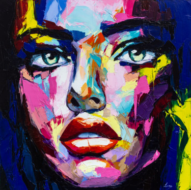 Painting, oil, fauvism, artwork by Lana