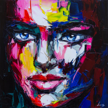 Painting, oil, expressionism, artwork by Lana