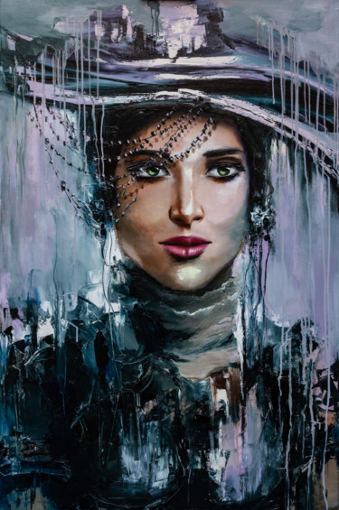 Painting, oil, impressionism, artwork by Lana