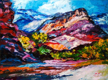 """Painting titled """"Zion National Park.…"""" by Lanalight S., Original Art, Oil"""