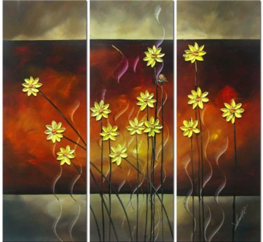 """Painting titled """"Daisy"""" by Lang, Original Art, Oil"""