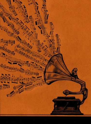 """Collages titled """"Facing the music"""" by Laura Lee Gulledge, Original Art,"""