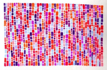 """Collages titled """"Study in Violet and…"""" by Laura Lee Gulledge, Original Art,"""