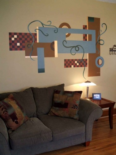 Painting, artwork by Laura Lee Gulledge