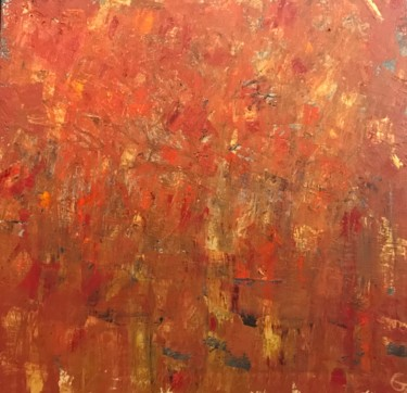 """Painting titled """"Automnal Symphony"""" by Laurence Blanchard, Original Art, Oil"""