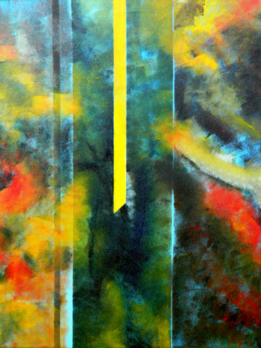 Abstract Painting, oil, abstract, artwork by Sorin Niculae Lazar