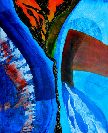 Abstract Painting, acrylic, abstract, artwork by Sorin Niculae Lazar