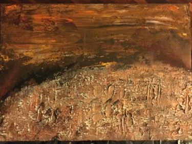 """Painting titled """"Strength and light…"""" by Laura Casini, Original Art, Acrylic"""