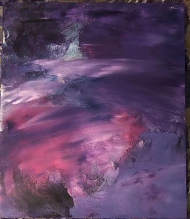 """Painting titled """"Mysterious land"""" by Laura Casini, Original Art, Acrylic"""