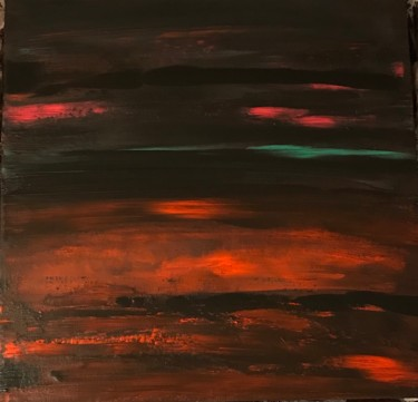 """Painting titled """"Lines in the black"""" by Laura Casini, Original Art, Acrylic"""