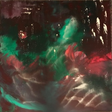 """Painting titled """"In the Space Between"""" by Laura Casini, Original Art, Acrylic"""
