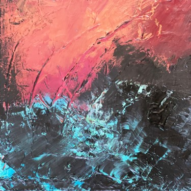 """Painting titled """"Pulsation of life.…"""" by Laura Casini, Original Art, Acrylic"""