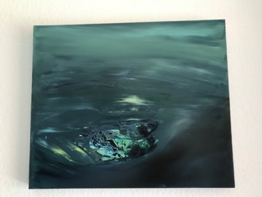 """Painting titled """"In the deep ocean..."""" by Laura Casini, Original Art, Acrylic"""