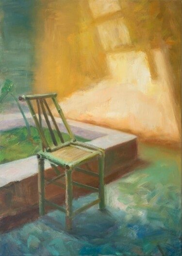 """Painting titled """"Perduto"""" by Iris Luo, Original Art, Oil"""