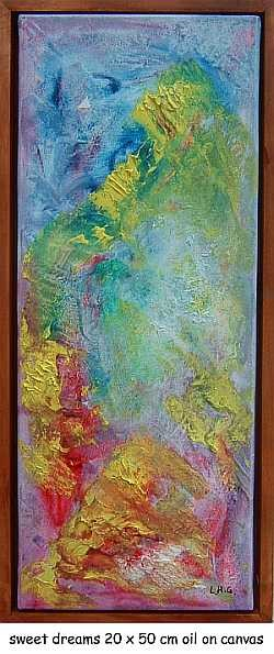 """Painting titled """"sweet dreams"""" by Left Hand Georges, Original Art,"""