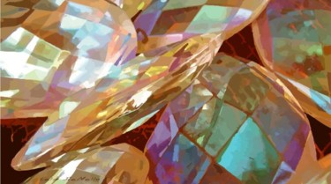 """Painting titled """"Bling No. 22"""" by Lelia, Original Art,"""