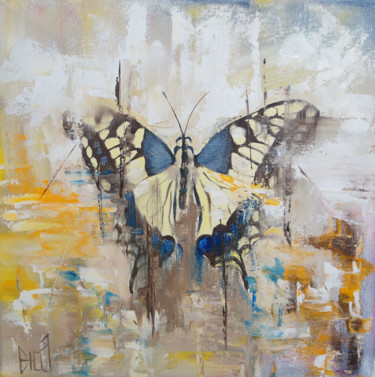 Animal Painting, oil, abstract, artwork by Julia Good