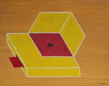 """Painting titled """"optical illusion"""" by Philip Lendrum, Original Art,"""
