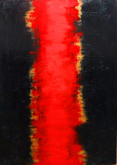 """Painting titled """"Abstract-Series"""" by Leon Nicholas Kalas, Original Art, Oil"""