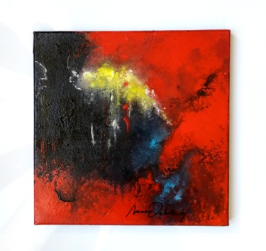 """Painting titled """"Inspiration"""" by Maria Valverde, Original Art, Acrylic"""