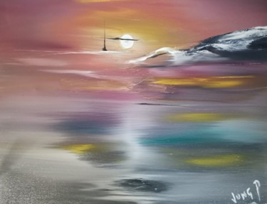 """Painting titled """"High hopes nc (3)"""" by Pascal Jung, Original Art, Oil"""
