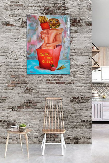 """Painting titled """"It's love that is n…"""" by Yuliya Liber, Original Art, Oil"""