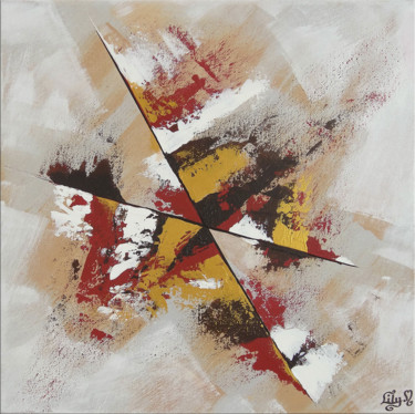 Painting, acrylic, abstract, artwork by Lily M.