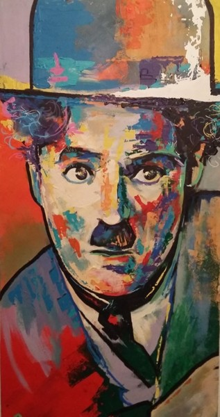 """Painting titled """"Charlot"""" by Lio, Original Art,"""