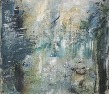 """Painting titled """"Wood whisppers"""" by Lisa Steeven, Original Art, Acrylic"""