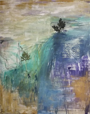 """Painting titled """"Shadow of the day"""" by Lisa Steeven, Original Art, Acrylic"""