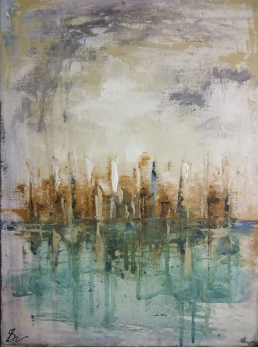 """Painting titled """"Effervescence"""" by Lisa Steeven, Original Art, Acrylic"""