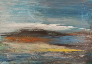 """Painting titled """"Canvas 91"""" by Lisa Steeven, Original Art, Acrylic"""