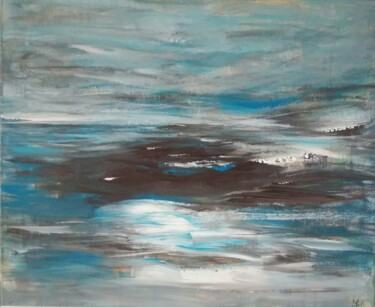 """Painting titled """"Canvas 119"""" by Lisa Steeven, Original Art, Acrylic"""