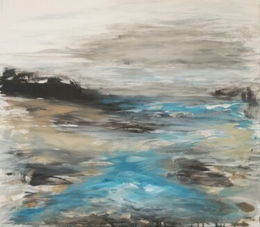 """Painting titled """"Canvas 128"""" by Lisa Steeven, Original Art, Acrylic"""