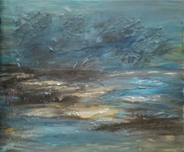"""Painting titled """"Canvas  129"""" by Lisa Steeven, Original Art, Acrylic"""