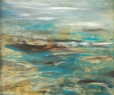 """Painting titled """"Canvas 132"""" by Lisa Steeven, Original Art, Acrylic"""