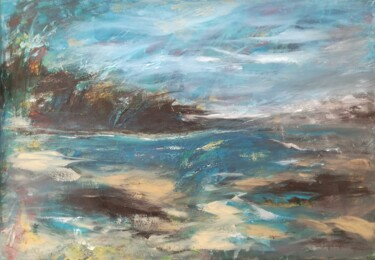"""Painting titled """"Canvas 131"""" by Lisa Steeven, Original Art, Acrylic"""