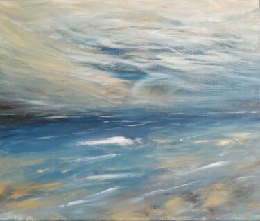 """Painting titled """"Canvas 135"""" by Lisa Steeven, Original Art, Acrylic"""