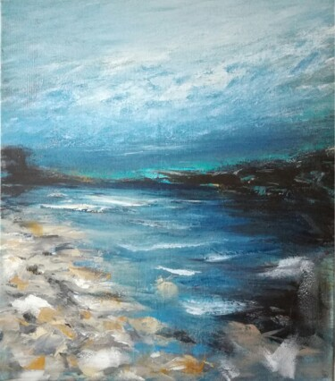"""Painting titled """"Canvas 137"""" by Lisa Steeven, Original Art, Acrylic"""