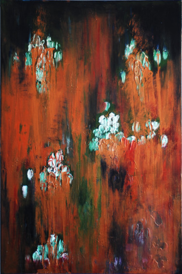 Painting, acrylic, abstract, artwork by Liss Art Studio