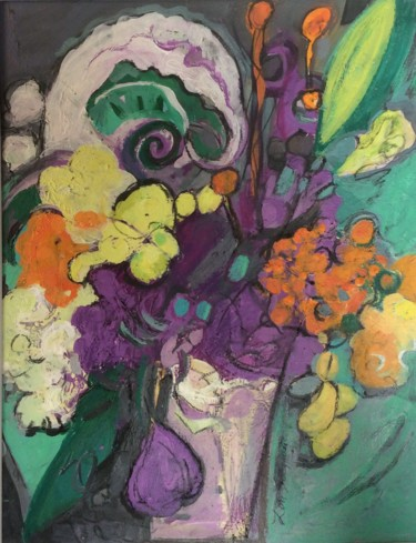 """Painting titled """"A Fragrant Offering"""" by Lori Solymosi, Original Art, Acrylic"""