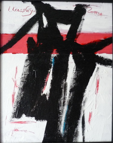 Painting, acrylic, abstract, artwork by Louis Lambry
