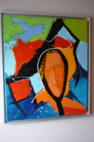 """Painting titled """"Dreaming"""" by Louis Lambry, Original Art, Acrylic"""
