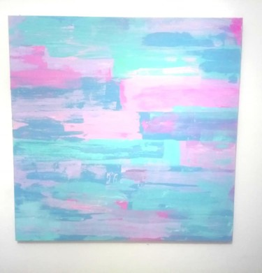 """Painting titled """"Candy"""" by Lu Sanches, Original Art, Acrylic"""