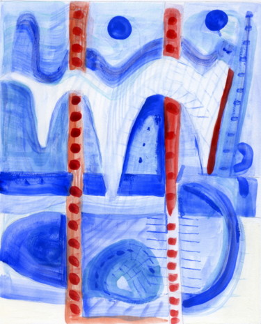 Color Painting, watercolor, abstract, artwork by Stephen Lucas