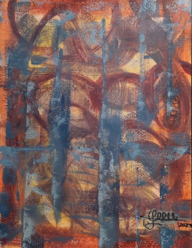Abstract Painting, acrylic, abstract, artwork by Luciano Costa